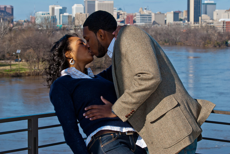 Engagement session in Richmond, Virginia
