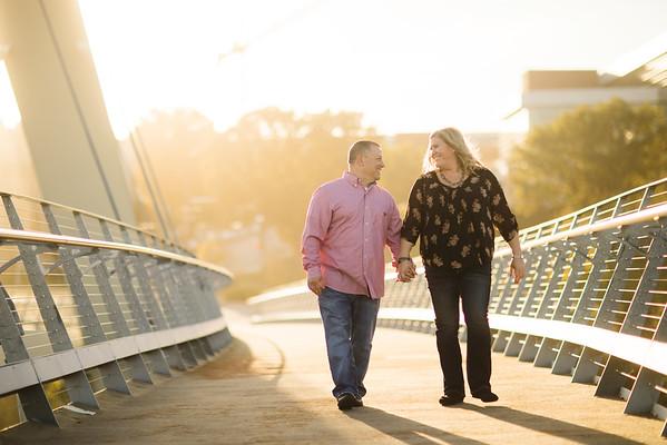 Bridge Walking Sunset