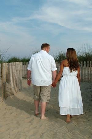 Jen & Vern's Beach Engagement Portraits