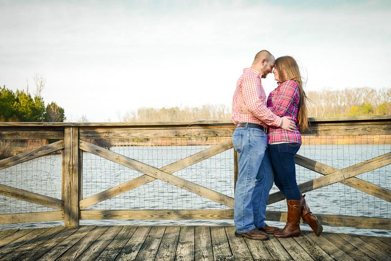 Austin and Jordans Engagement in Midlothian, Virginia