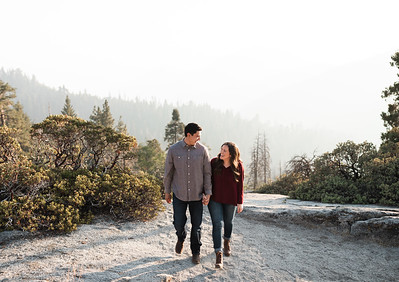 Alexandria Vail Photography Sequoia National Park Engagement 012