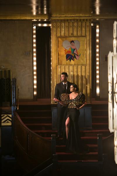 Karina & Victor's Greystone Mansion Engagement Session!