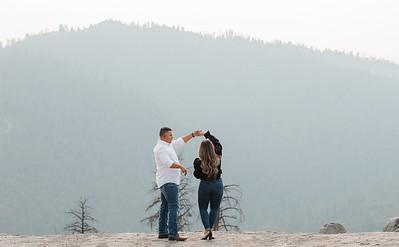 Alexandria Vail Photography Sequoias Engagement 026