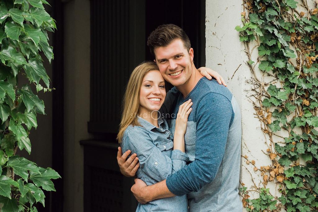 kelsey + erik | engagement | birmingham, mi