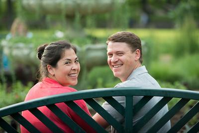 Kim and Brian