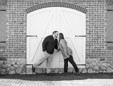 Kristen and Dan's Yorktown Beach Engagement