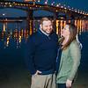 Kristen and Dan's Yorktown Beach Engagement