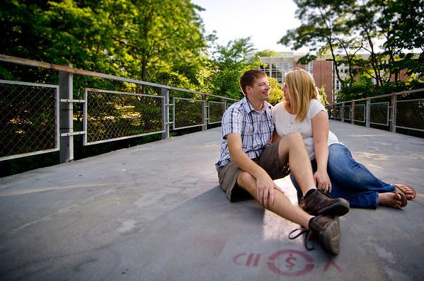 kristen + karl | engagement | michigan state university, east lansing