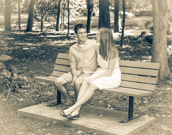 Lauren Becker and Stephen