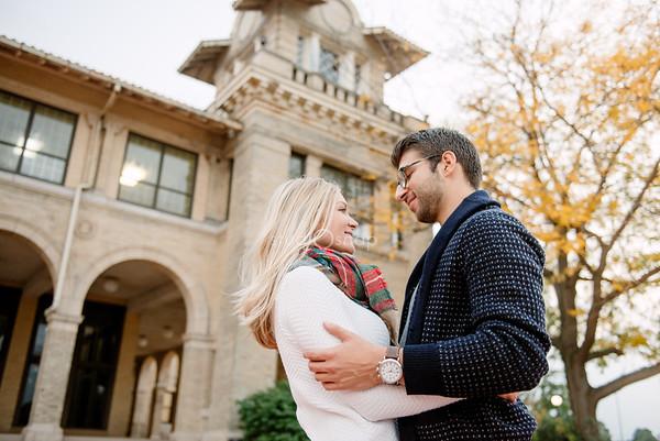 Lauren  & Joe | Engagement | Downtown Detroit, Belle Isle