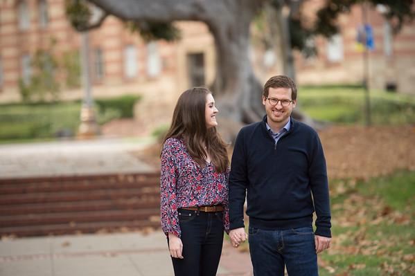 Lauren & Michael UCLA Engagement Session!