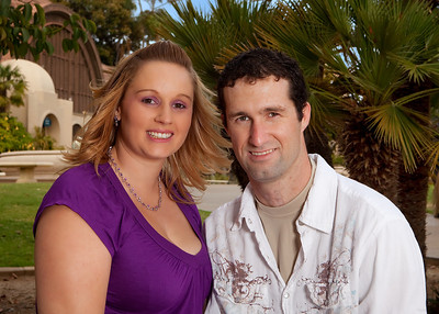 Leslie and Ryan Engagement Portrait