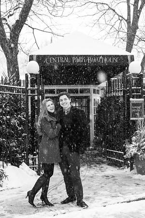 Loren and Mazzini's Snowgagement!