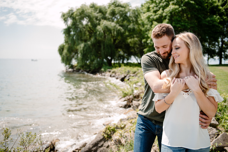 Madison & Jake   Engagement   Edsel and Eleanor Ford House, Grosse Pointe