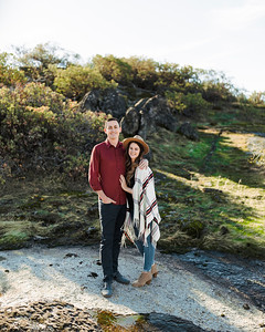 Alexandria Vail Photography Shaver Lake Engagement Mat + Deanna100