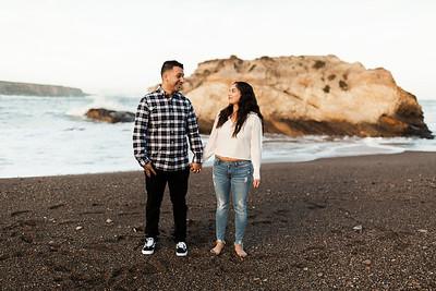 Alexandria Vail Photography Montana De Oro Engagement Miriam   Omar 129