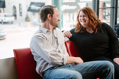 Molly & Tom | Engagement | The Meeting House, Paint Creek Trail, Rochester