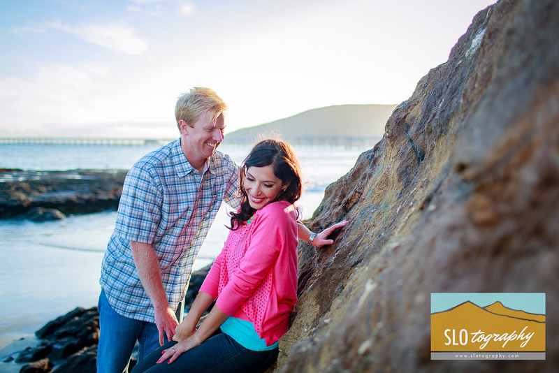 Nadine+James ~ Engaged   Avila Beach