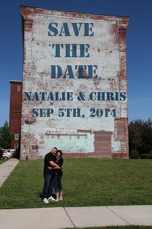 Natalie + Chris  Engagement