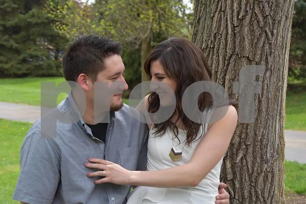 Nesserine & Anthony' Engagement Pics.