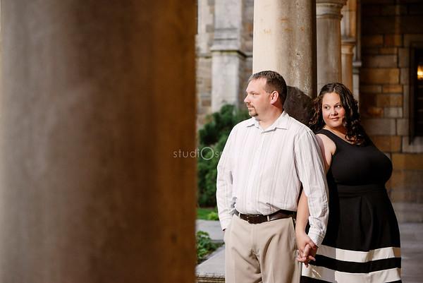 Nicole & Brian | Engagement | Downtown Ann Arbor