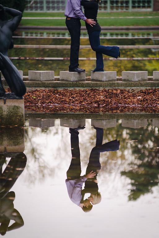 paige + kevin | engagement | cranbrook academy of art, birmingham