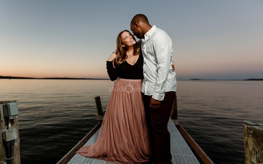 Rachel & Christopher | Engagement | Chateau Chantal, Traverse City