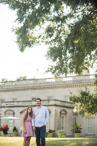 Rhianna and Reid's VMFA and Maymont Engagement
