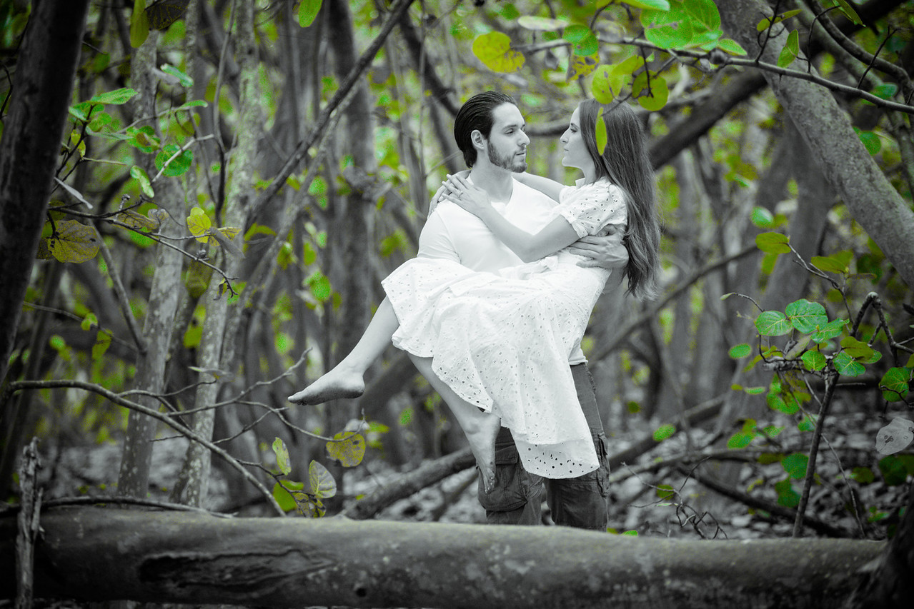 Key Biscayne Engagement Photos Session - David Sutta Photography-213