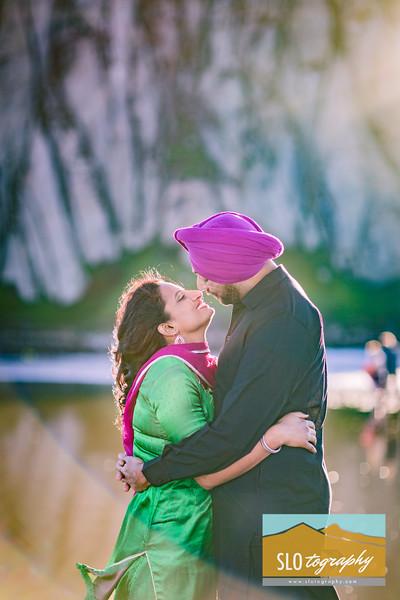 Simran+Gurinderjit ~ Engaged!