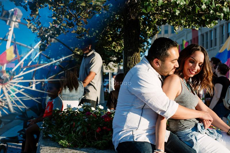 Stephanie & Sergio    Engagement   Arts, Beats & Eats, Royal Oalk