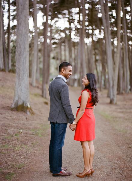 Sudeep and Sandhya Engagements