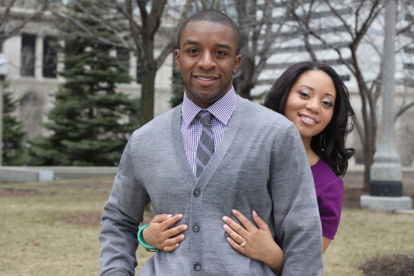 The Garrison's Engagement Session in Downtown Chicago