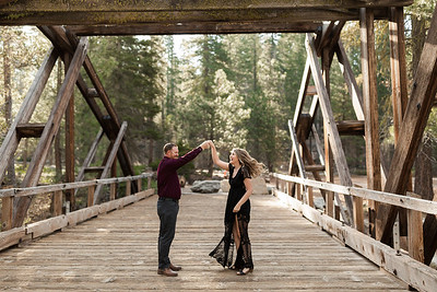 Alexandria Vail Photography Dinkey Creek Engagement Timothy   Kirsten122