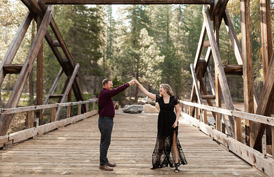 Alexandria Vail Photography Dinkey Creek Engagement Timothy   Kirsten123