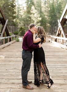 Alexandria Vail Photography Dinkey Creek Engagement Timothy   Kirsten118