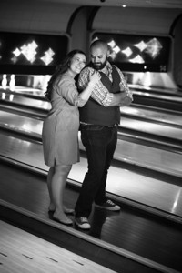 Tony and Sarah Bowling Engagement Photo Session-156
