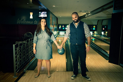 Tony and Sarah Bowling Engagement Photo Session-159