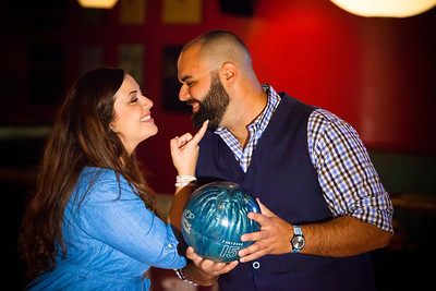 Tony and Sarah Bowling Engagement Photo Session-174