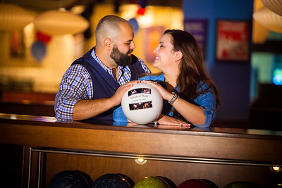 Tony and Sarah Bowling Engagement Photo Session-150