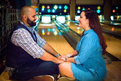 Tony and Sarah Bowling Engagement Photo Session-202