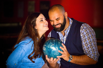 Tony and Sarah Bowling Engagement Photo Session-172