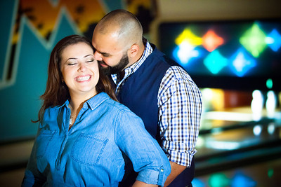 Tony and Sarah Bowling Engagement Photo Session-124
