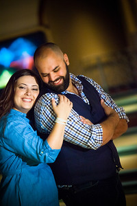 Tony and Sarah Bowling Engagement Photo Session-168
