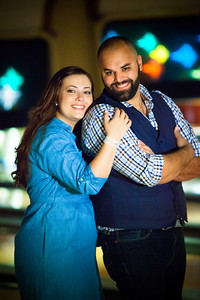 Tony and Sarah Bowling Engagement Photo Session-157