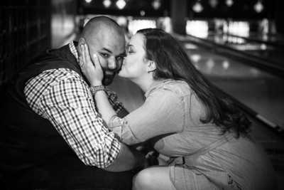 Tony and Sarah Bowling Engagement Photo Session-212