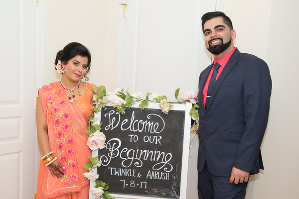 Twinkle & Aarush Engagement Party
