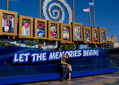 Vanessa and Manny go to Disneyland!