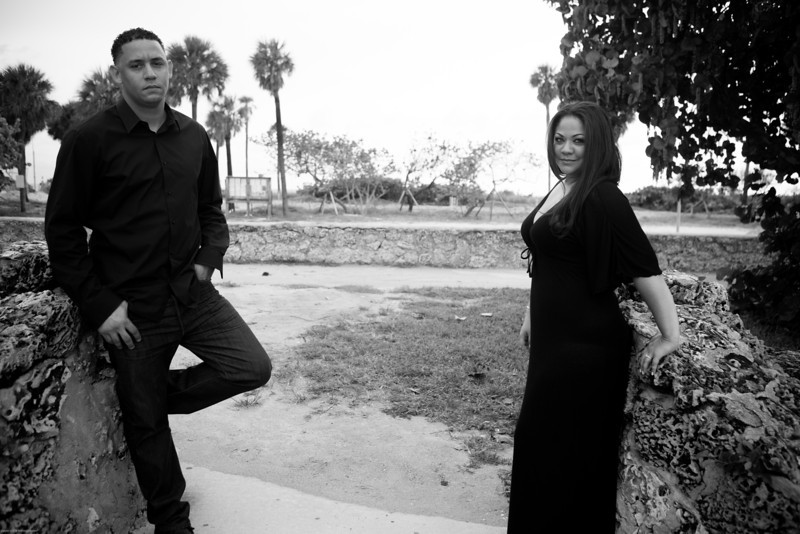 Miami Beach Engagement Photography - Ana and William-101