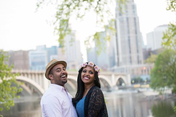 Yodit and Kaleb Eng